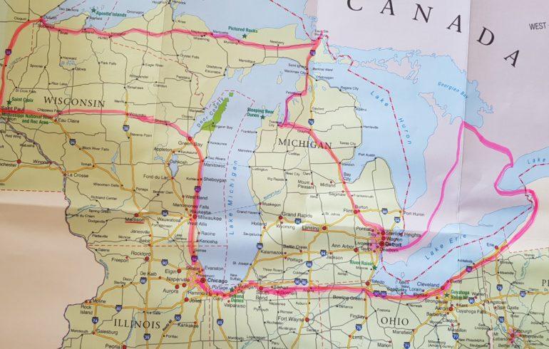 Reiseroute USA-Canada Mietwagen