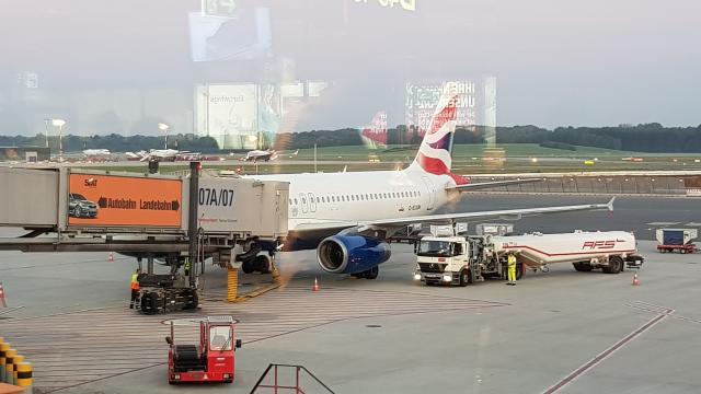 Airplane nach London Reiseblog Reisebericht