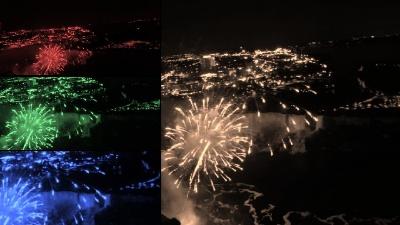 Feuerwerk Niagarafälle Reiseblog