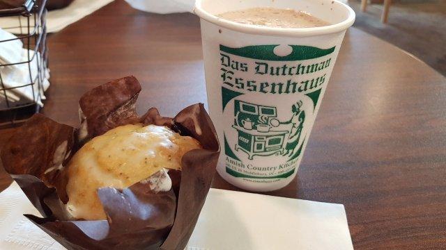 Kaffeepause im Dutchman Essenhaus