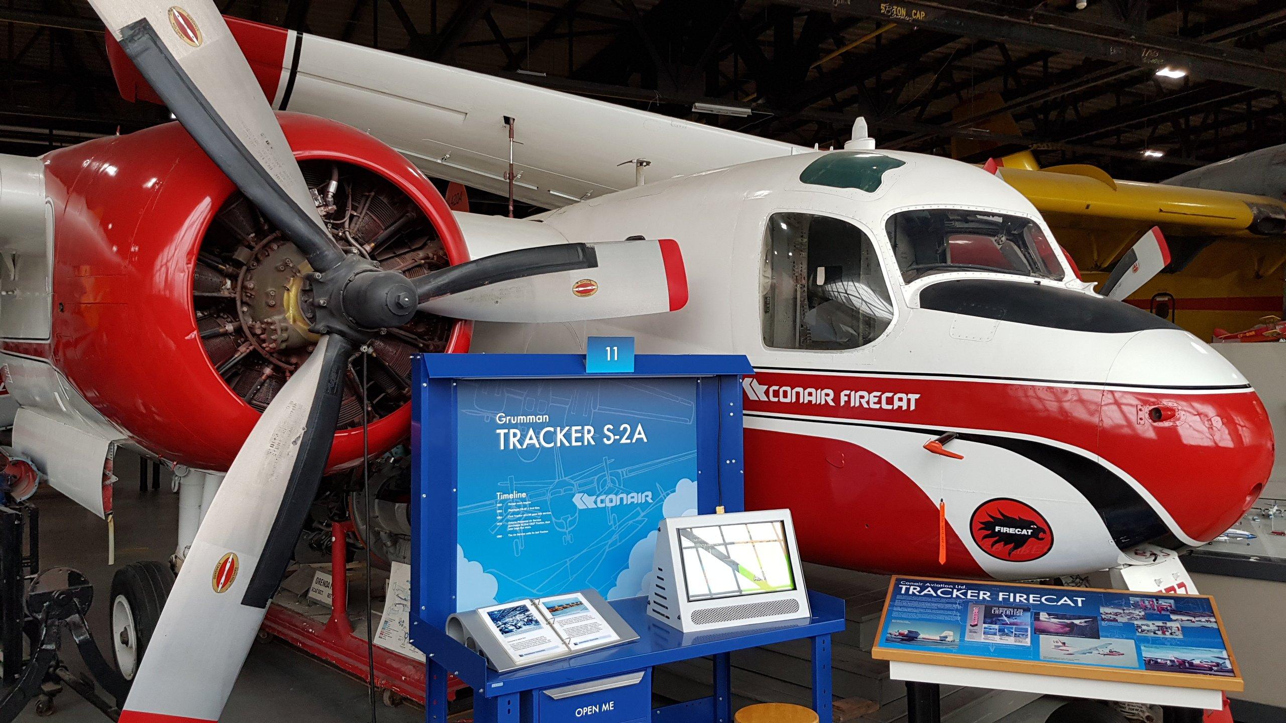 Firecat Conair CBHC Sault Ste.Marie Tracker S-2A