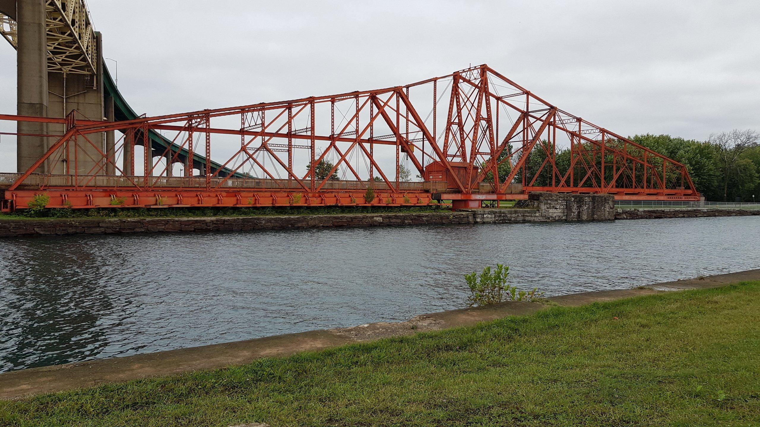 Behelfs- Rettungsbrücke Sault Ste.Marie Kanal