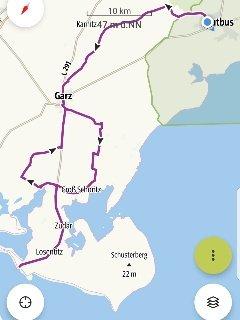 Fahrradstrecke
